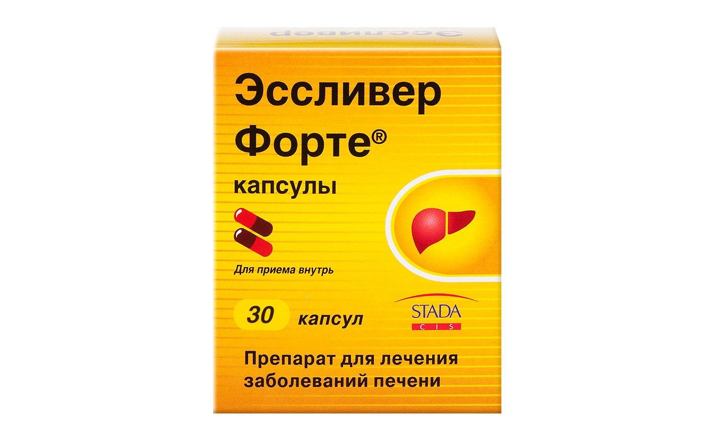 Essliver forte capsules №30