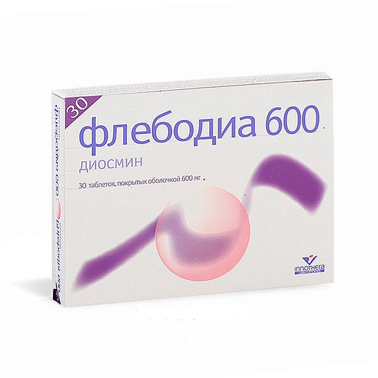 Flebodia coated tablets 600 mg. №30