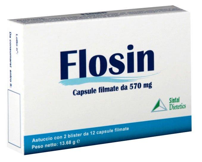 Flosin (tamsulosin hydrochloride) capsules 0.4 mg. №30