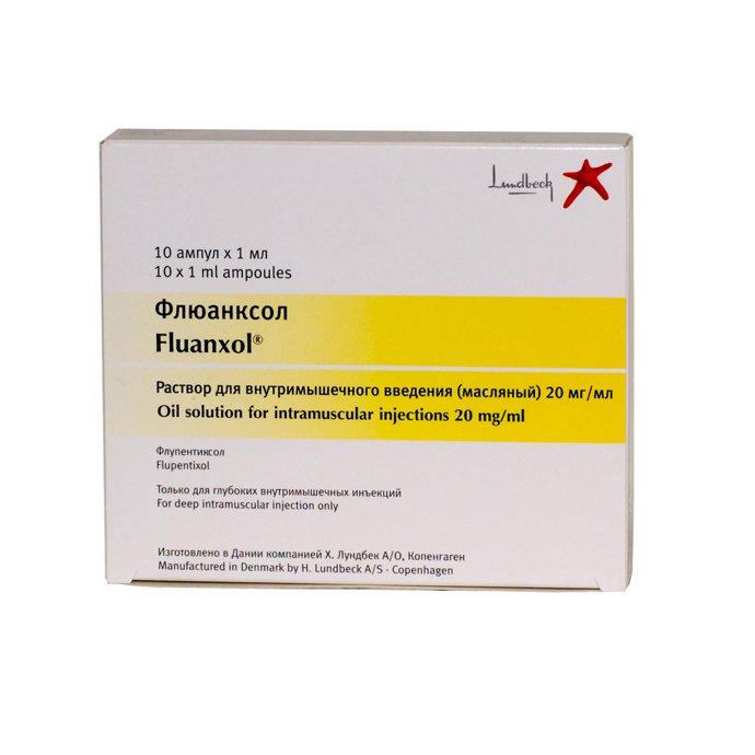 Fluanxol Depo (flupentixol) 20 mg. 1ml. №10