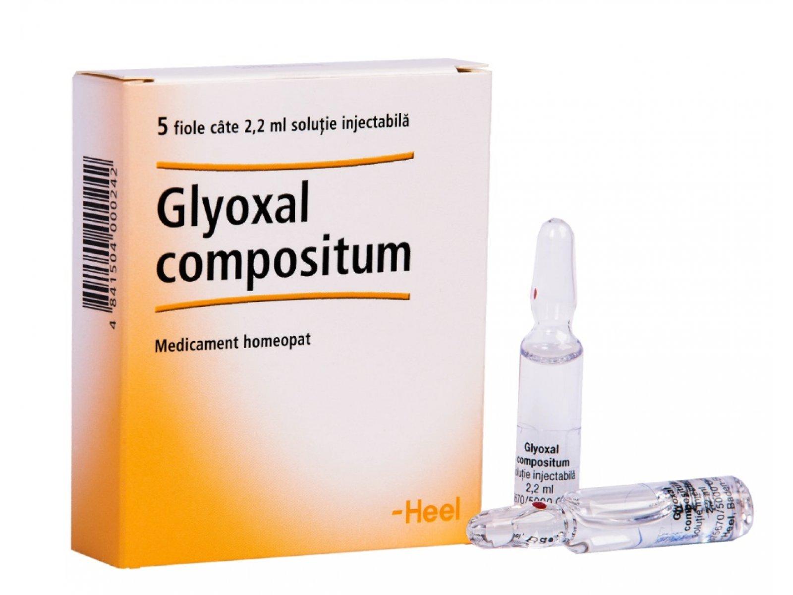 Glioxal Compoz. solution for injections 2.2 ml. ampoules №5
