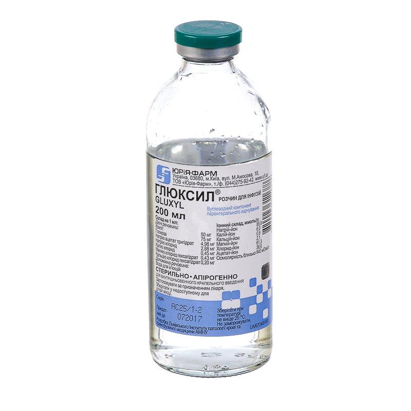 Gliuxil 200 ml.