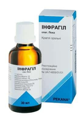 Infragyl Spag peca oral drops 30 ml. vial