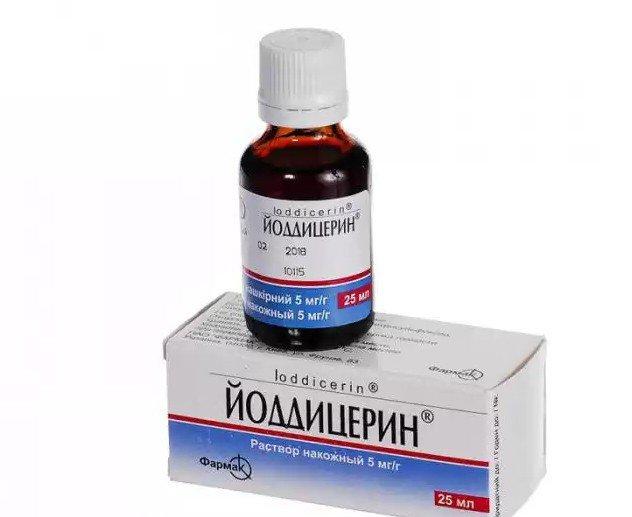 Ioddicerin 25 ml.