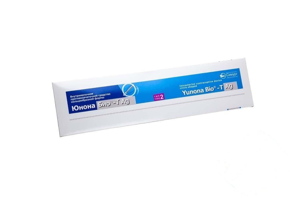 "Intrauterine VM ""Iunona Bio-T Ag"" type 2"