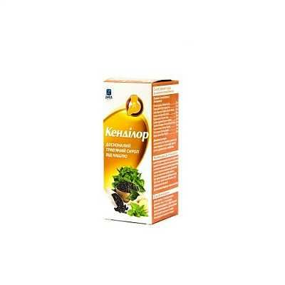 Kendilor (peppermint extract) syrup 100 ml.