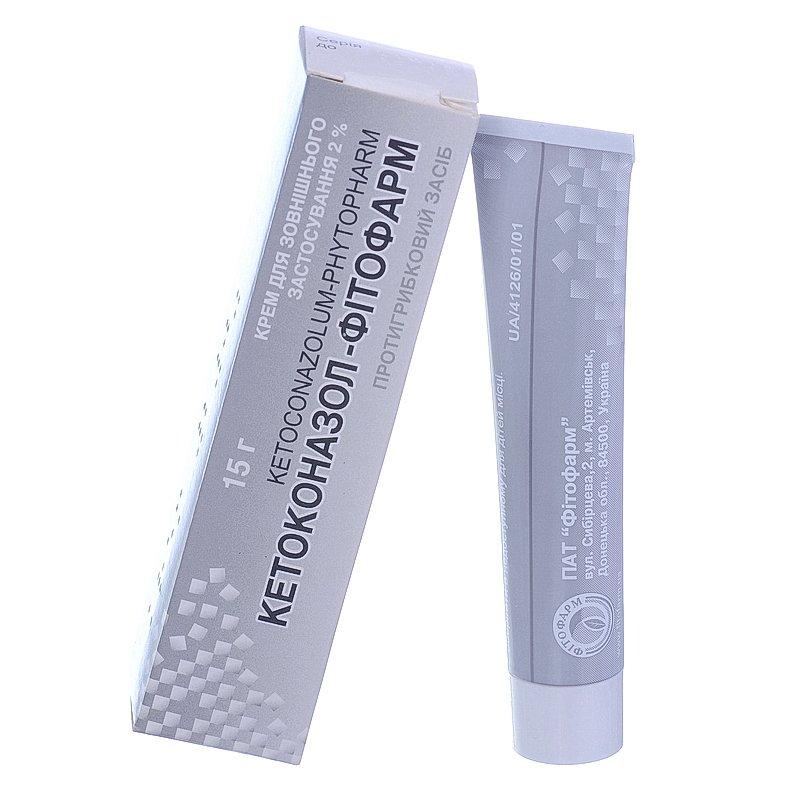 Ketoconazol-Fitofarm (ketoconazole) cream 2% 15 g.