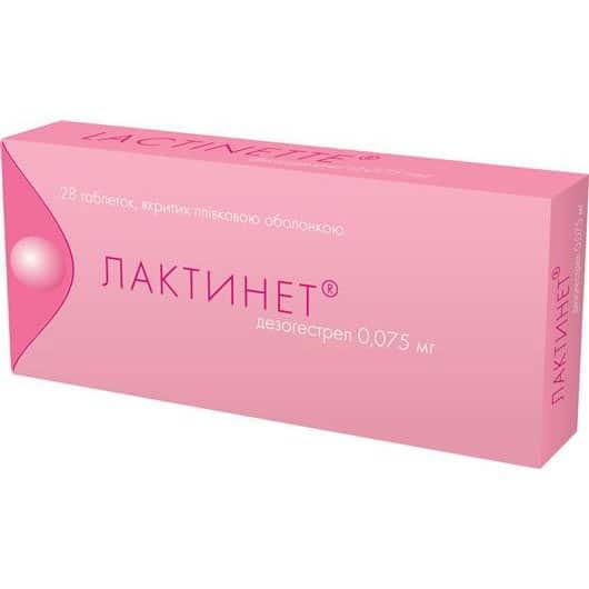 Laktinet coated tablets 0.075 mg. №28