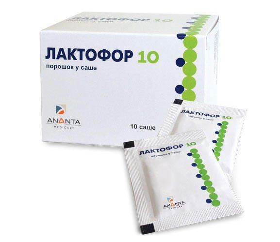 Laktofor 10 sachet №10