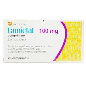 Lamictal tablets 100 mg. №28