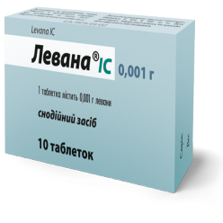 Levana tablets 0.001 №10
