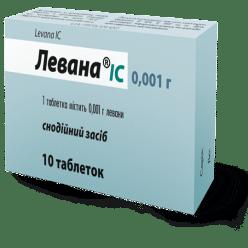 Levana tablets 0.001 №10