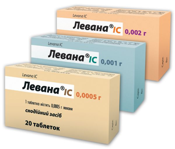 Levana tablets 0.002 №10