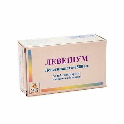 Levenium coated tablets 1000 mg. № 50