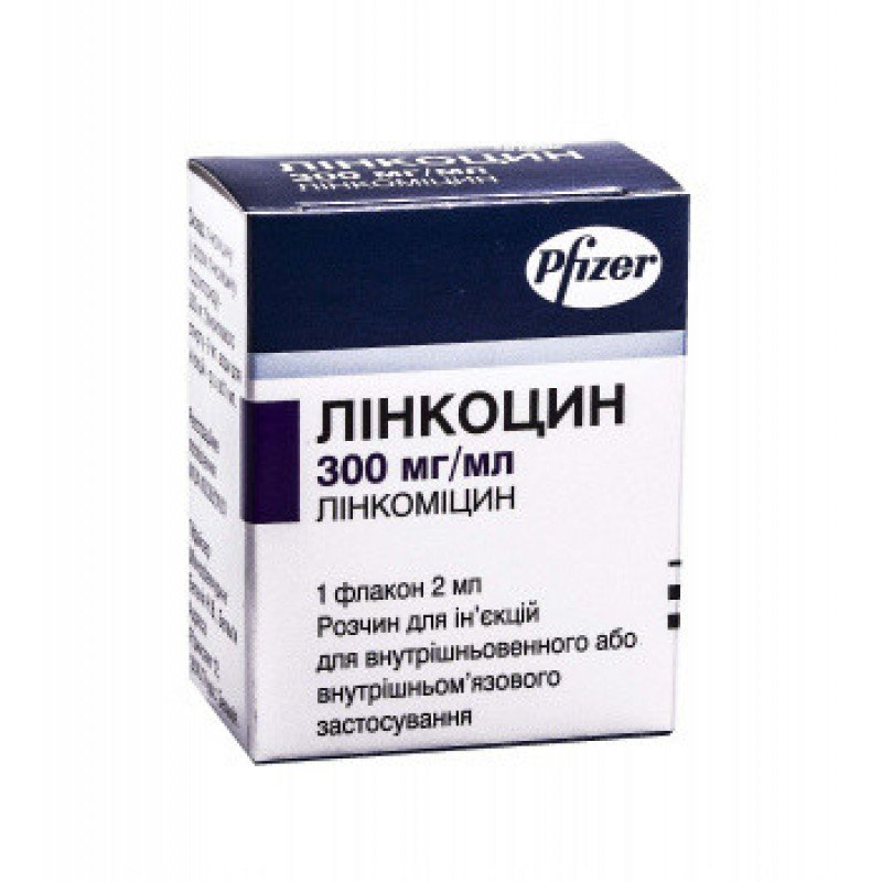Lincocin 300 mg/ml. 2 ml. №1 vial