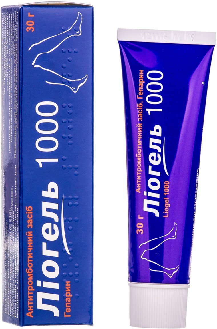 Liogel 1000 gel 30 g. tube