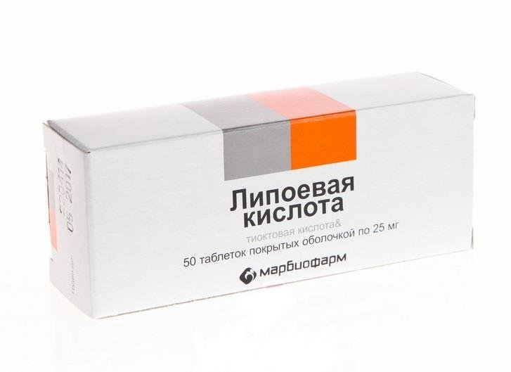 Lipoic acid forte DD tablets №50