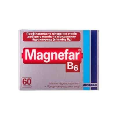 Magnefar B6 tablets №60