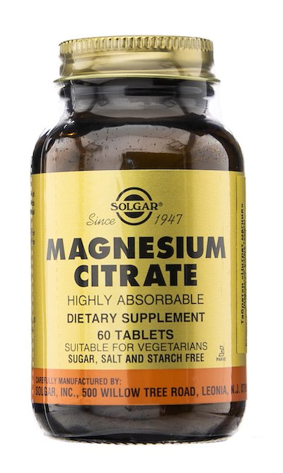 Magnium citrate tablets №60 vial