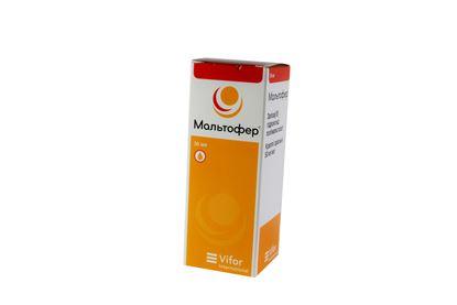 Maltofer oral drops 50 mg/ml. 30 ml. vial
