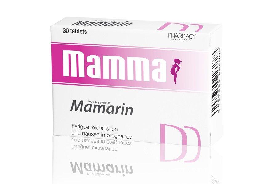 Mamarin (zingiber officinale) tablets №30