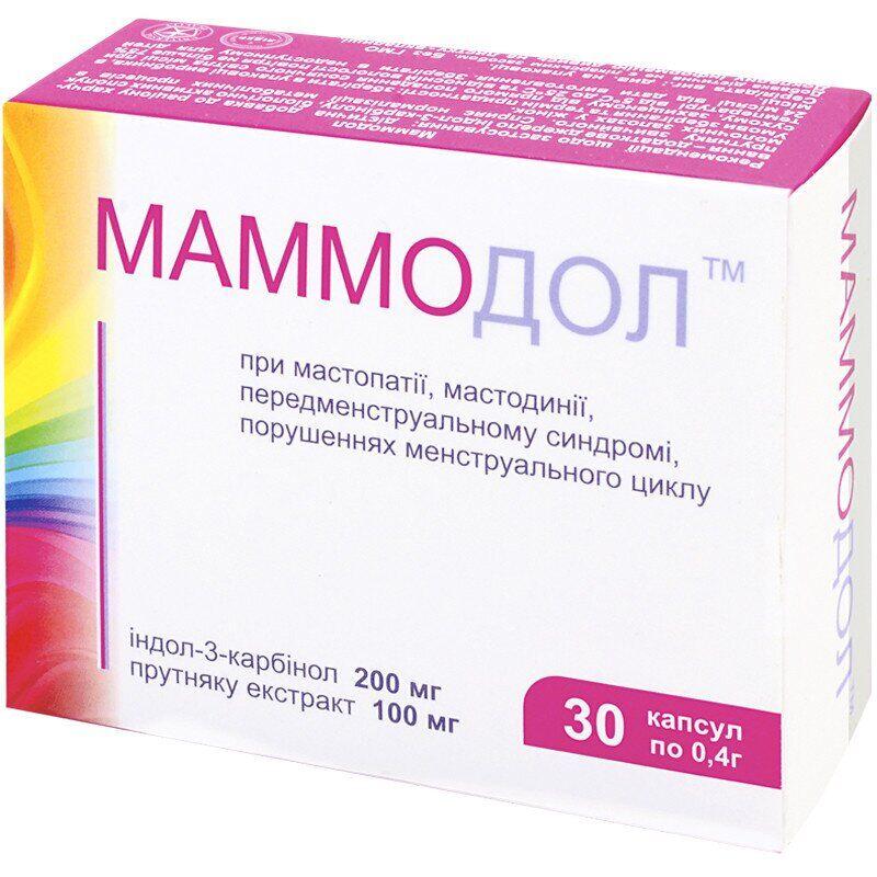 Mammodol capsules 0.4g №30