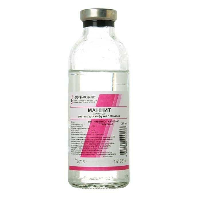 Mannit (glibenclamide) solution 15% 200 ml.