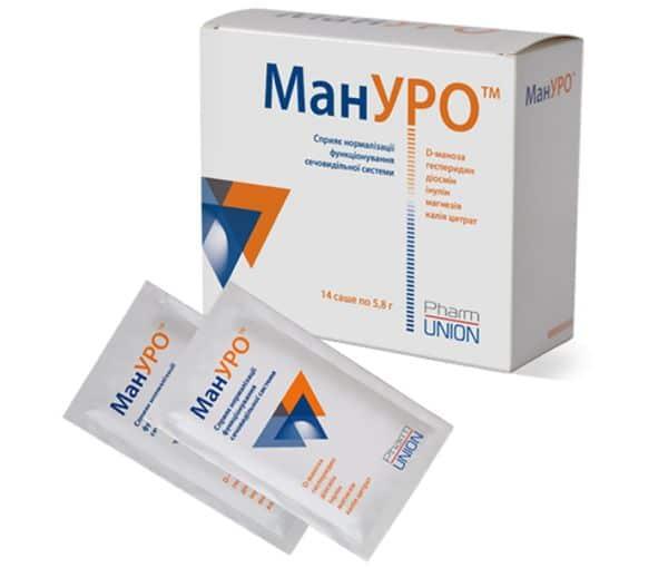 Manuro granules for oral suspension 5.8 g. sachet №14