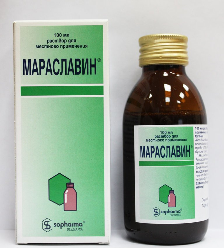 Maraslavin (herbs of Pontic wormwood) 100 ml.