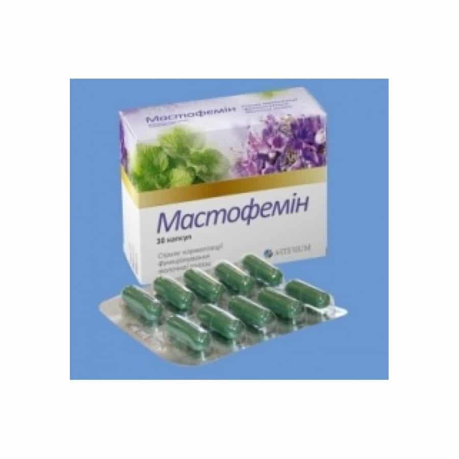 Mastofemin capsules 240 mg. №30