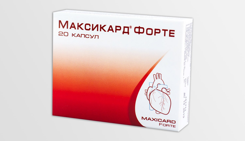 Maxicard forte capsules №20