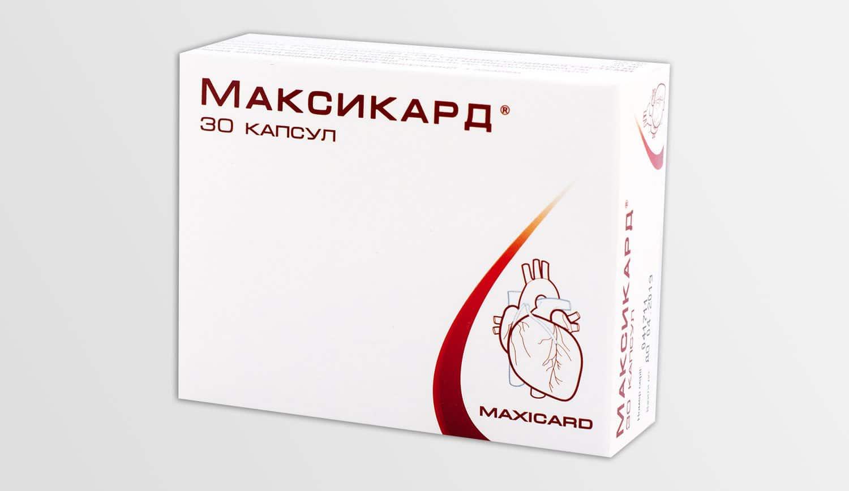 Maxicard (skullcap root extract) capsules №30
