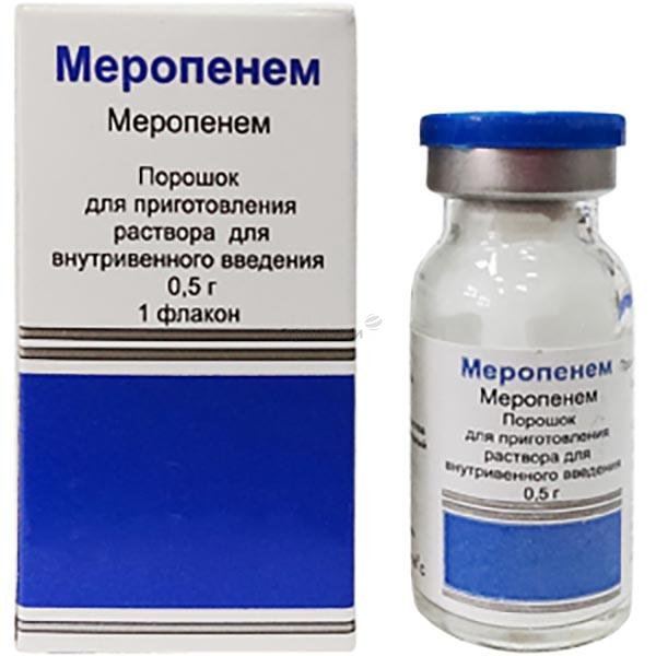 Medopenem powder for injections 1g. №1 vial