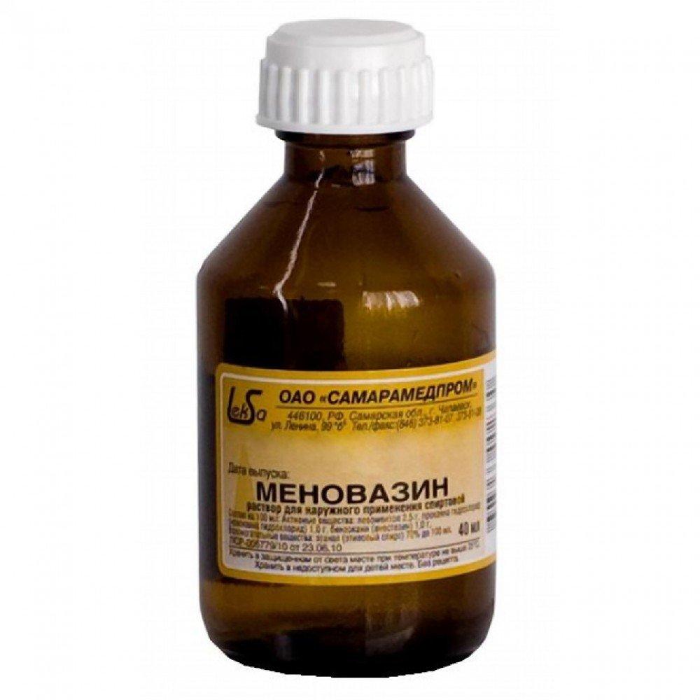 Menovazin (procaine hydrochloride) solution 40 ml.