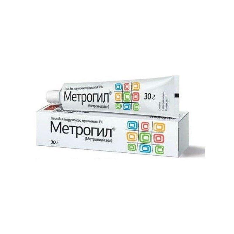Metrogyl (metronidazole) gel 30 g.