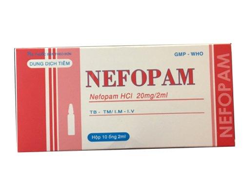 Nefopam (nefopam) ampoules 20 mg/ml. №3