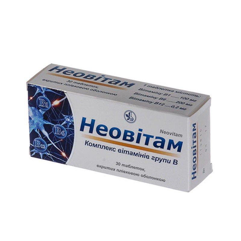 Neovitam coated tablets №30
