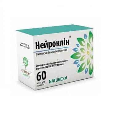 Neuroklin capsules 400 mg. №60