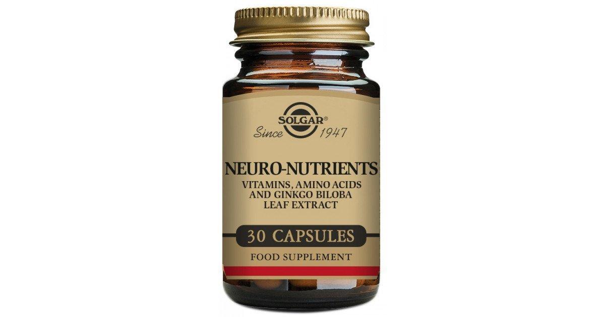 Neuro-nutrients capsules №30 vial
