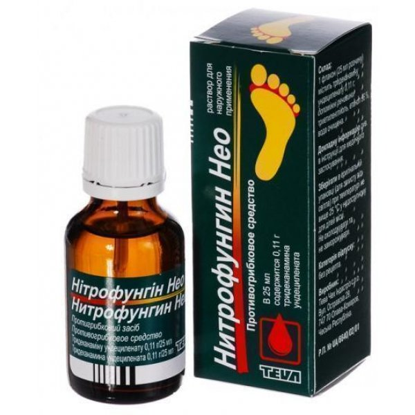 Nitrofungyn NEO (chlorine) solution 25 ml.