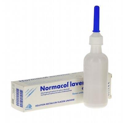 Normacol (sodium phosphate dihydrate) enema 130 ml.