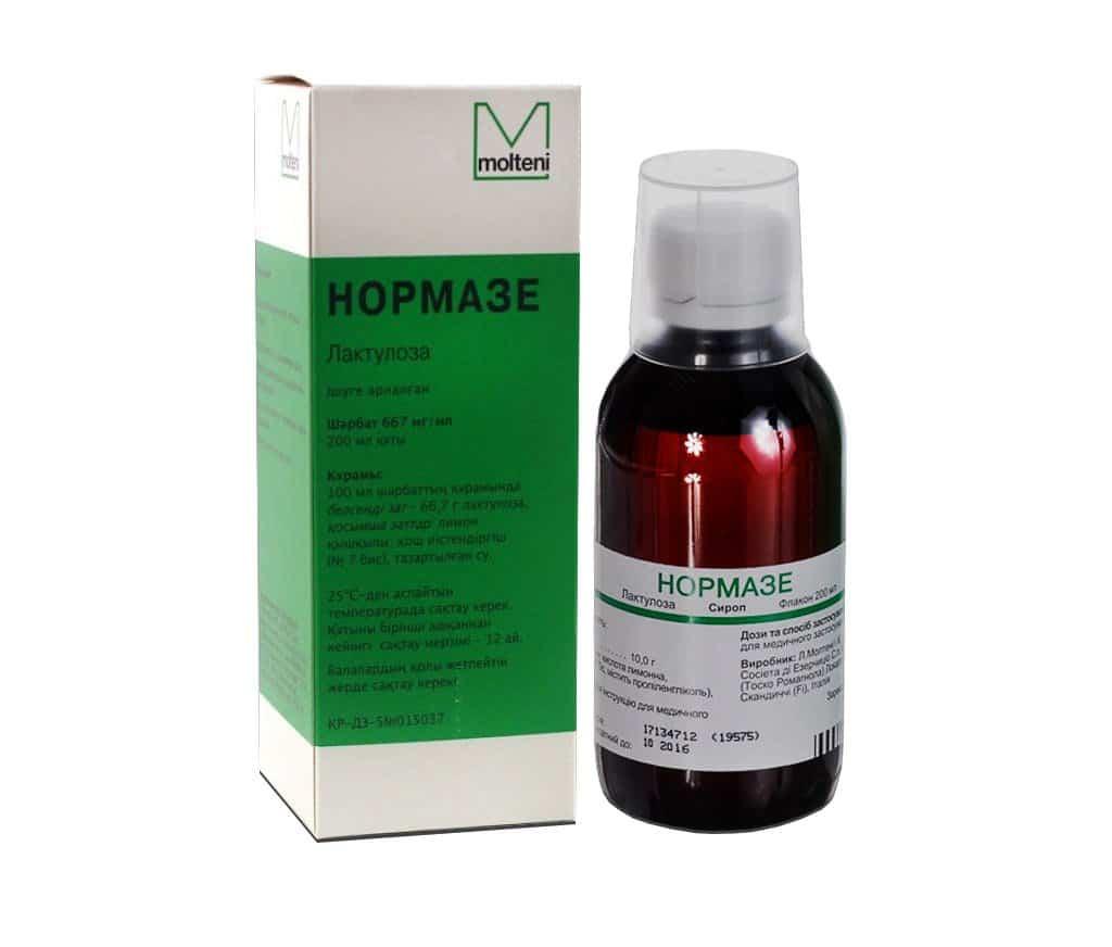Normaze (lactulose) syrup 200 ml.