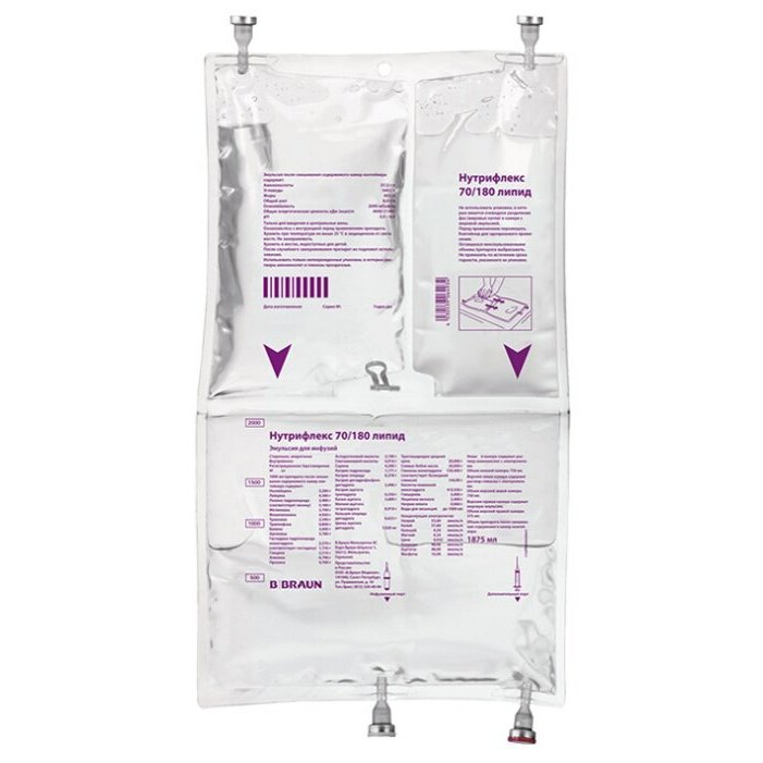 Nutriflex solution for infusions 1000 ml. N5