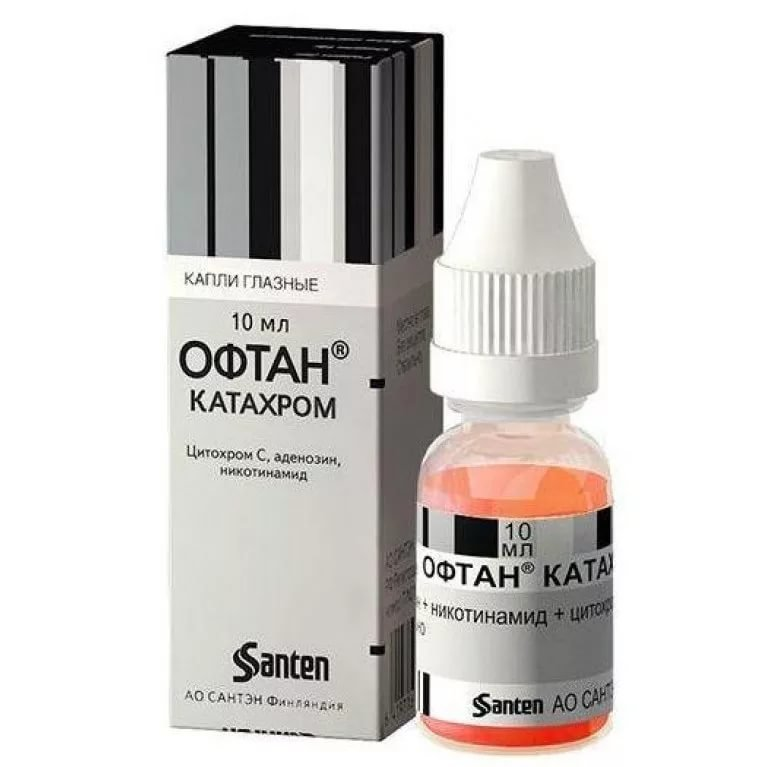 Oftan Catachrom eye drops 10 ml.