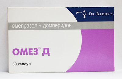 Omez D (omeprazole) capsules №30