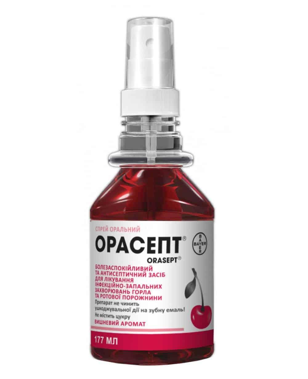 Orasept (phenol) spray 177 ml.