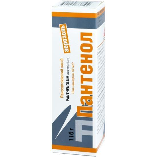 Pantenol (dexpanthenol) aerosolum 116 g.