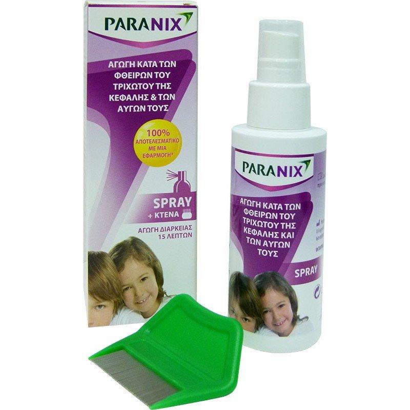 Paranix spray 100 ml.