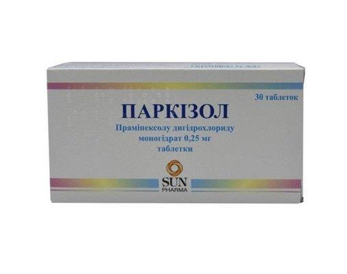 parkizol-tablets-025-mg-n30