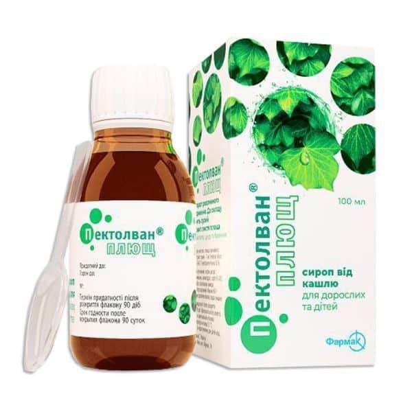 Pectolvan (Hederae helicis e folium) syrup 100 ml.